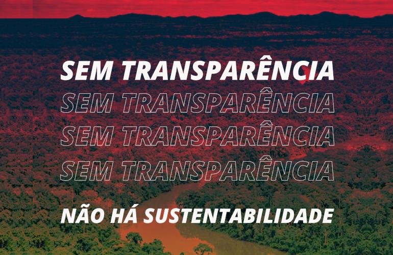 Transparência Brasil e mais de 30 organizações exigem transparência de dados socioambientais